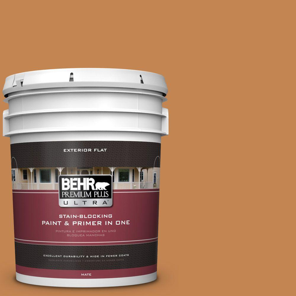 5-gal. #280D-6 Mulling Spice Flat Exterior Paint