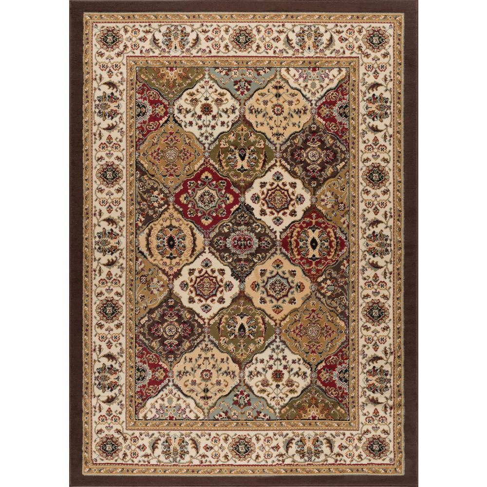 tayse rugs laguna multi 5 ft x 7 ft transitional area rug 4588 multi 5x7 the home depot. Black Bedroom Furniture Sets. Home Design Ideas
