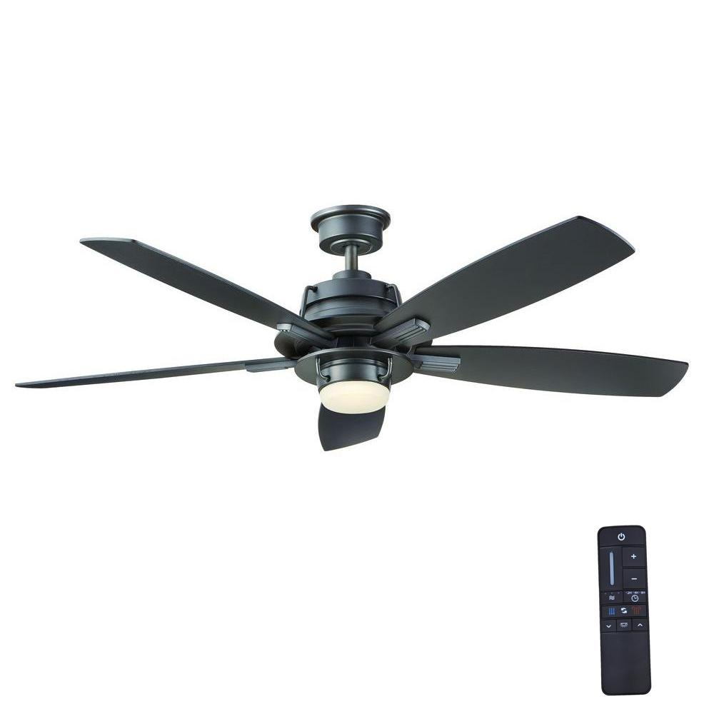 home decorators collection montpelier 56 in led indoor natural iron ceiling fan with light kit. Black Bedroom Furniture Sets. Home Design Ideas