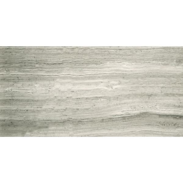 Marble Blue Honed 11.81 in. x 23.62 in. Marble Floor and Wall Tile (2.00 sq. ft.)