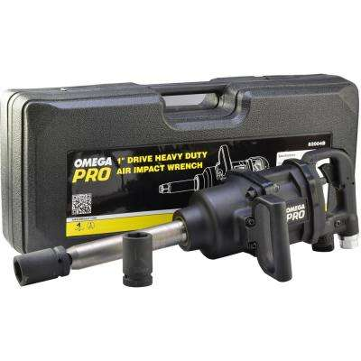 Heavy-Duty 1 in. Air Impact Wrench with Carrying Case
