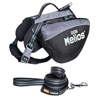 Freestyle 3-in-1 Explorer Convertible Backpack Small Black Harness and Leash