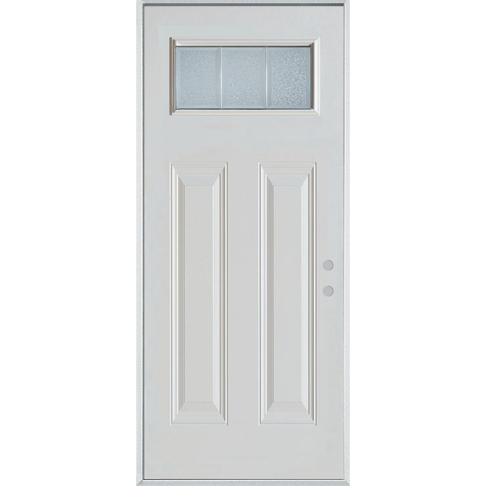Stanley Doors Doors With Glass Steel Doors The Home Depot