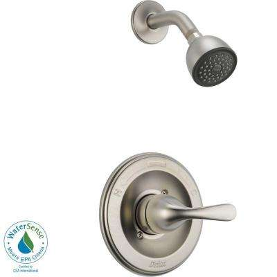 Classic 1-Handle Shower Faucet Trim Kit in Stainless (Valve Not Included)