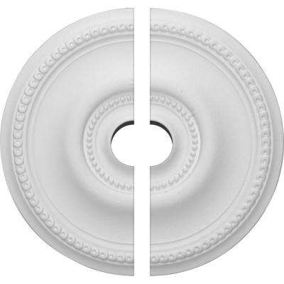 20-5/8 in. O.D. x 3-1/2 in. I.D. x 1-3/8 in. P Raynor Ceiling Medallion (2-Piece)