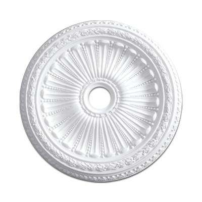 35-3/16 in. 2-1/2 in Floral Polyurethane Ceiling Medallion