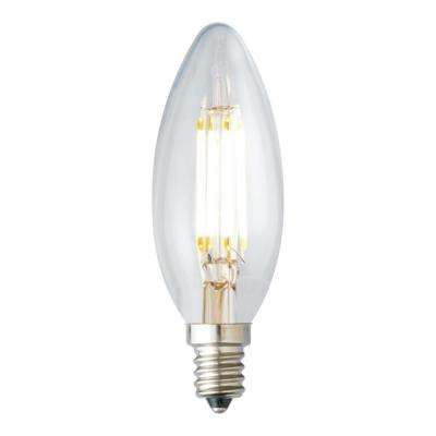 40-Watt Equivalent B10 Dimmable LED Light Bulb