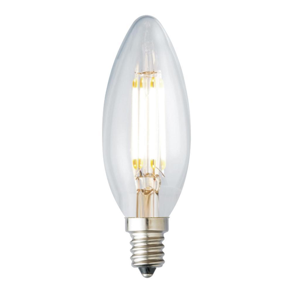 40-Watt Equivalent B10 Dimmable LED Light Bulb