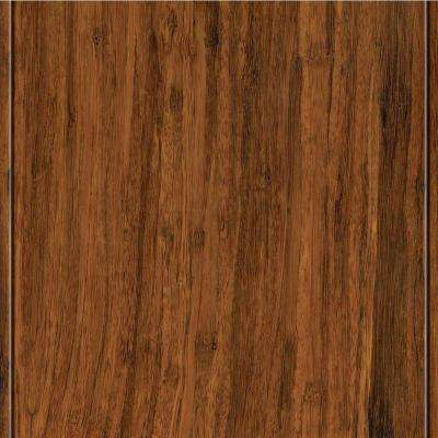 Take Home Sample - Strand Woven Toast Solid Bamboo Flooring - 5 in. x 7 in.