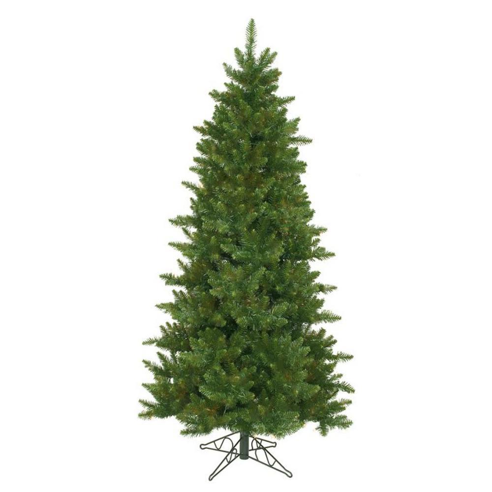 10 ft. Unlit Eastern Pine Slim Artificial Christmas Tree