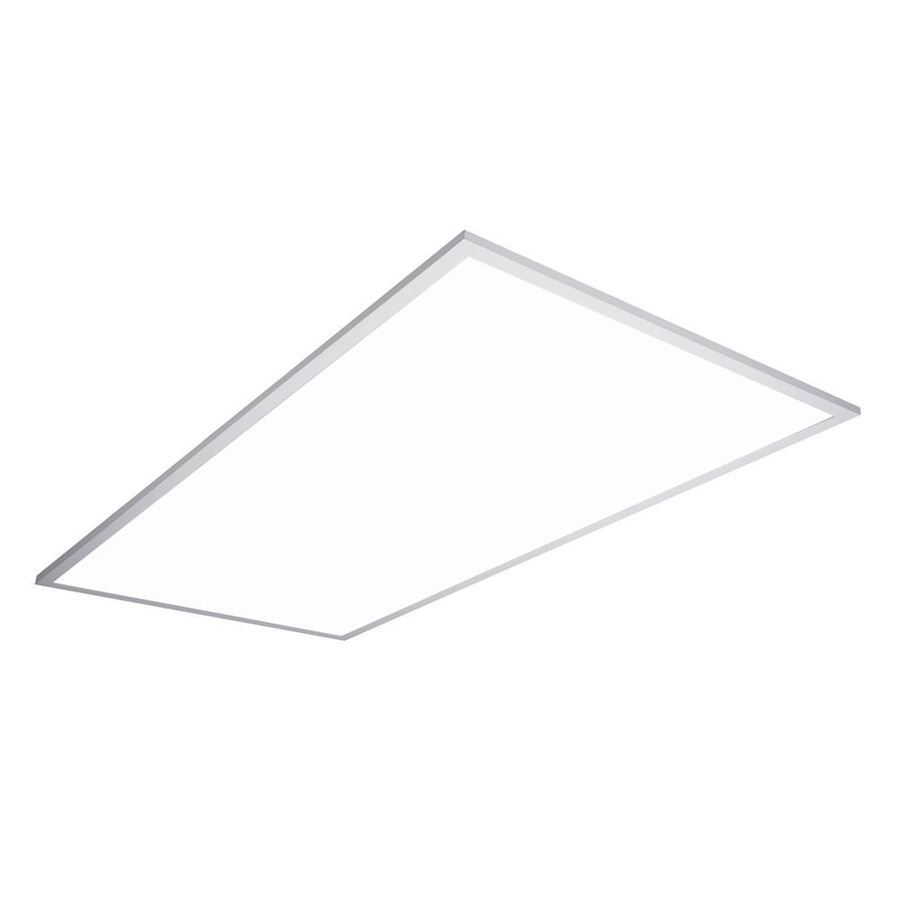2 ft. x 4 ft. White Integrated LED Flat Panel Troffer