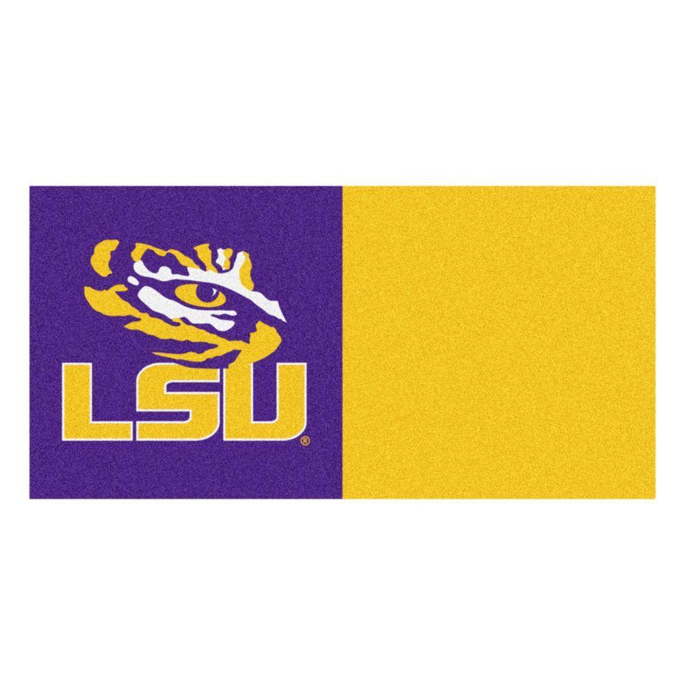 Fanmats Ncaa Louisiana State University Purple And Gold