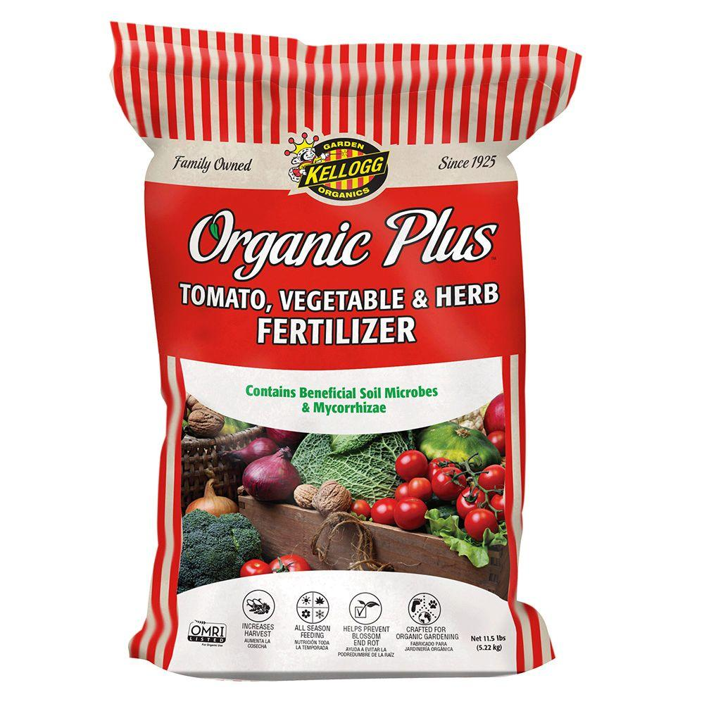 Kellogg Garden Organics 11.5 lb. Organic Tomato Vegetable and Herb Fertilizer