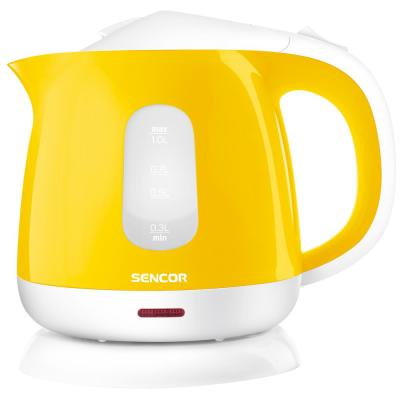 4.3-Cup Yellow Corded Electric Kettle with Automatic Shut Off