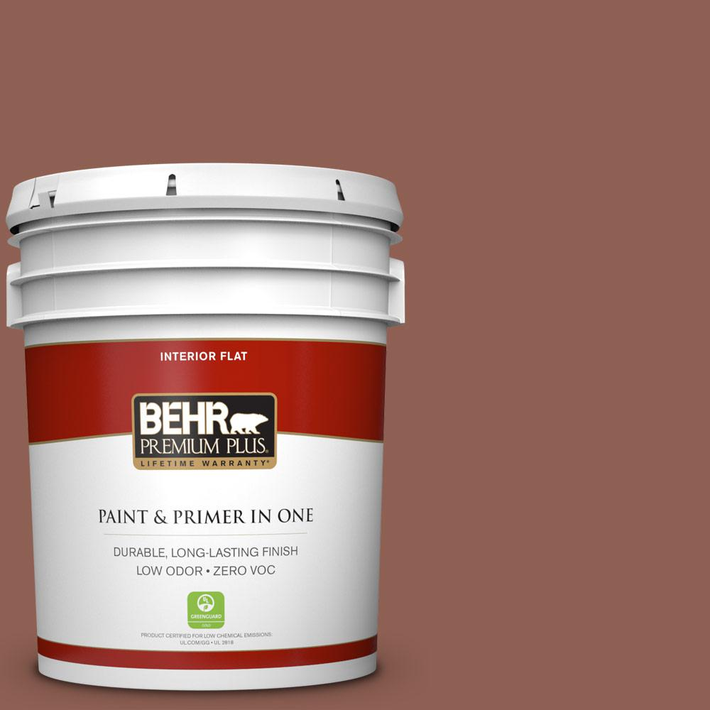 5 gal. #MQ1-61 Upper Eastside Flat Zero VOC Interior Paint and