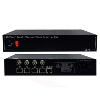 4-Channel HD Passive Video Balun Tranceiver