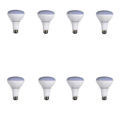 65W Equivalent Warm White Dimmable LED Light Bulb (8-Pack)