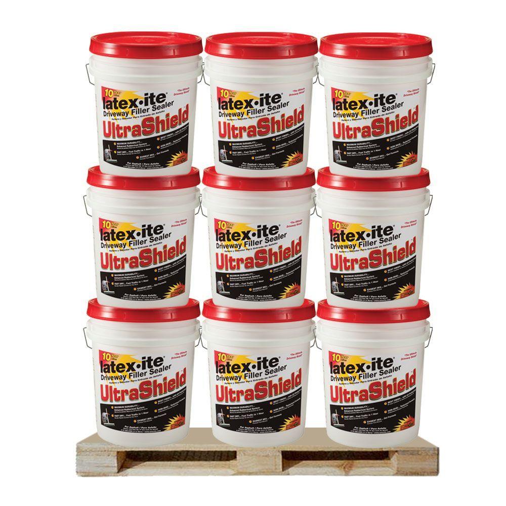 Latex-ite 4.75 Gal. Ultra Shield Driveway Filler Sealer (36 Pails / Pallet )
