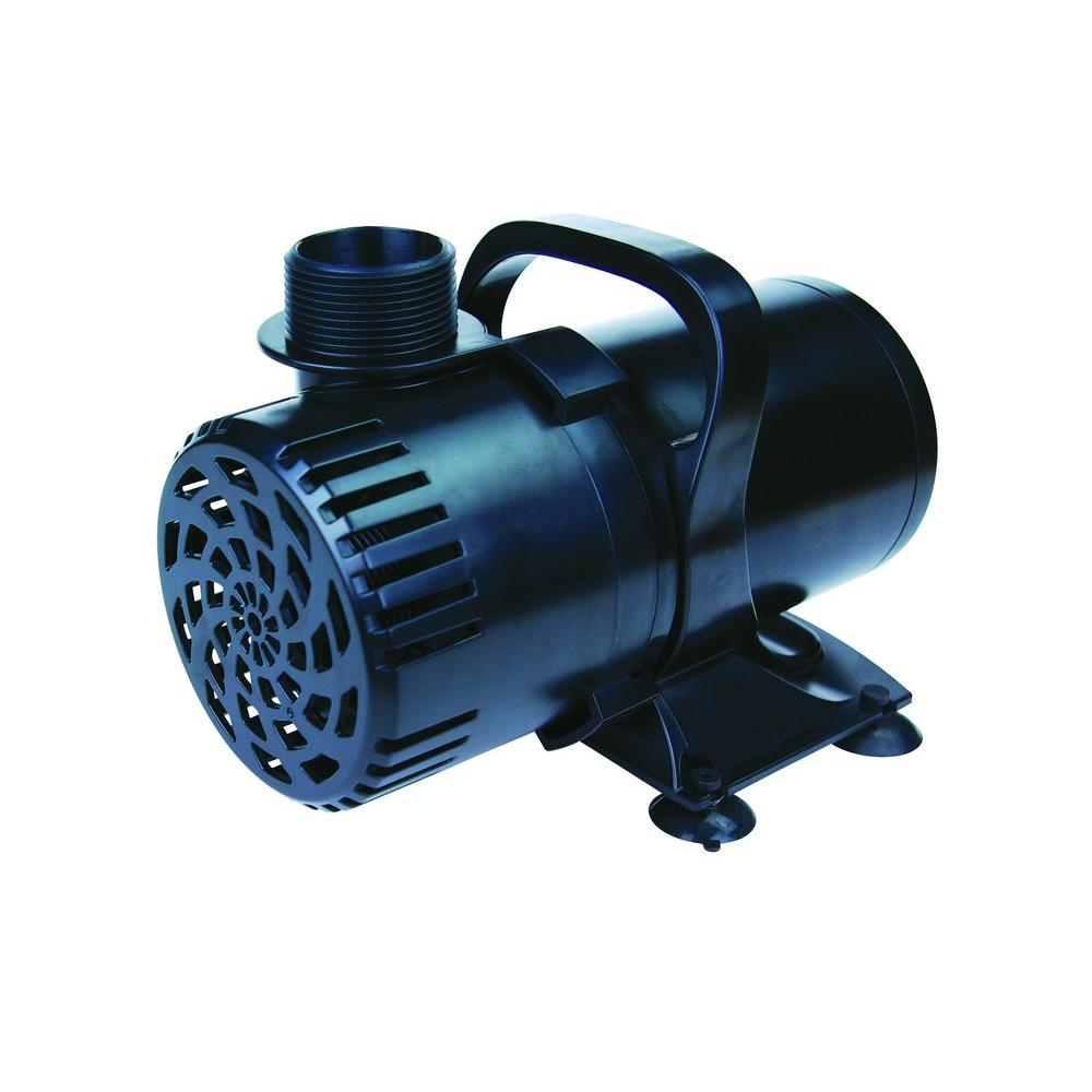 Total pond 140 gph fountain pump 52217 the home depot for Pond waterfall pump