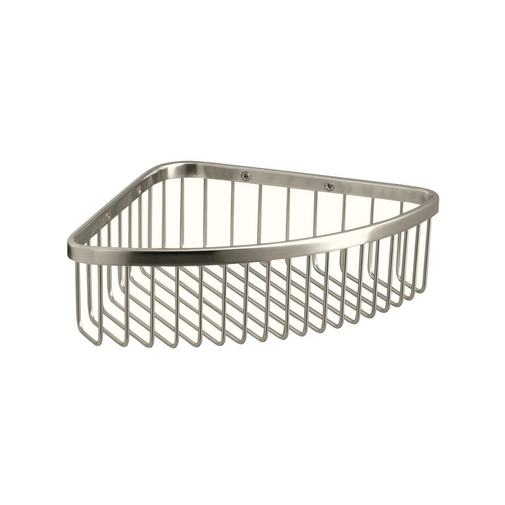 Charmant KOHLER Large Shower Basket In Polished Stainless K 1897 S   The Home Depot