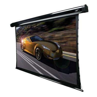 100 in. Electric Tension Projection Screen with 12 in. Drop