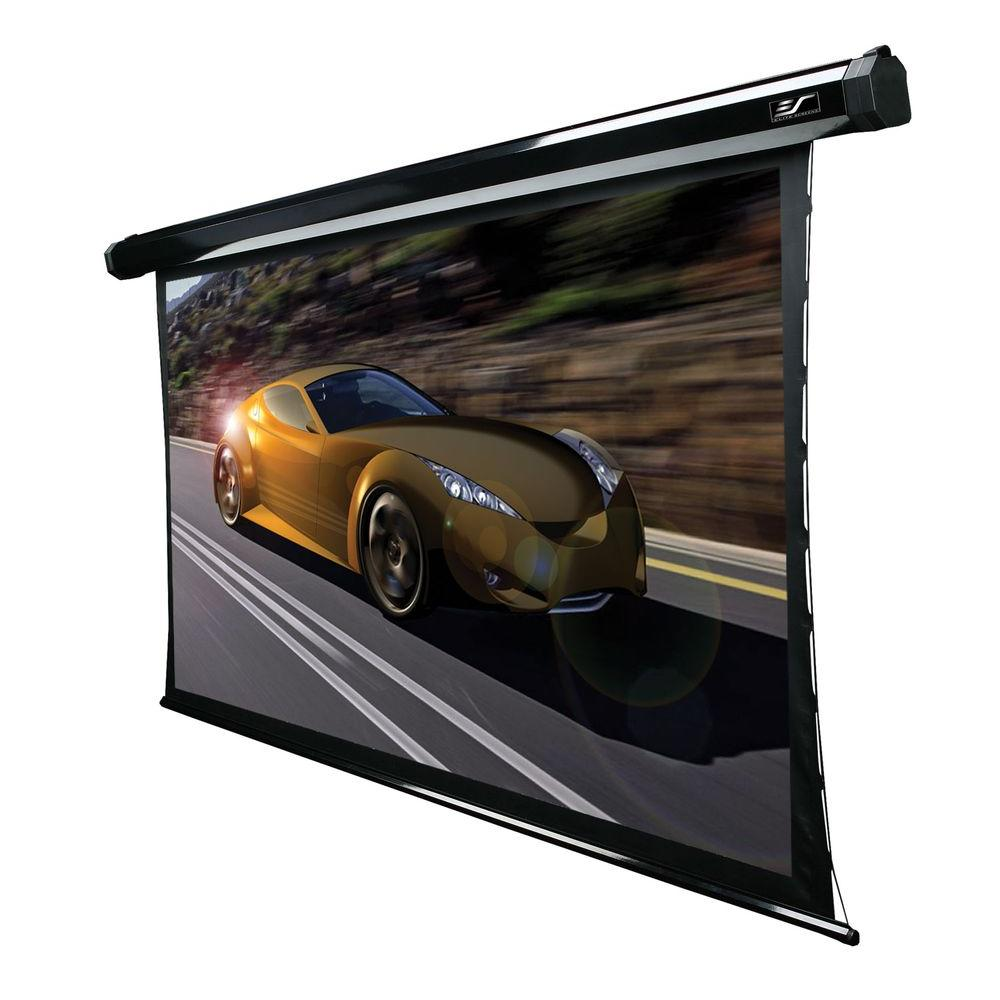 Elite Screens 92 in. Electric Tension Projection Screen - Cine Grey
