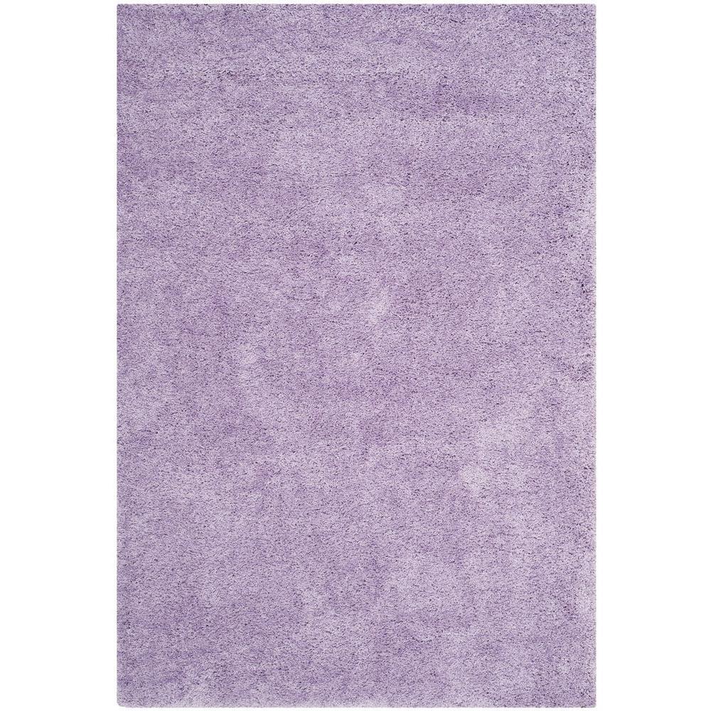 Safavieh California Shag Lilac 7 Ft. X 10 Ft. Area Rug