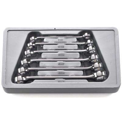 Metric Flare Nut Wrench Set (6-Piece)