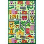 City Neighborhood Playmat Multi 5 ft. x 7 ft.  Area Rug