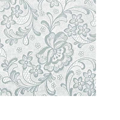 Frosty 18 in. x 20 ft. Frosty White Lace Transparent Self-Adhesive Vinyl Drawer and Shelf Liner (6-Rolls)