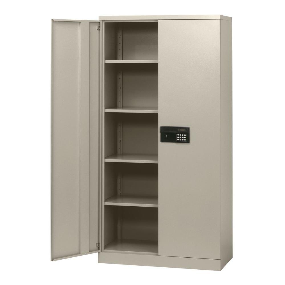 Sandusky 72 in. H x 36 in. W x 18 in. D Steel 5-Shelf Quick ...