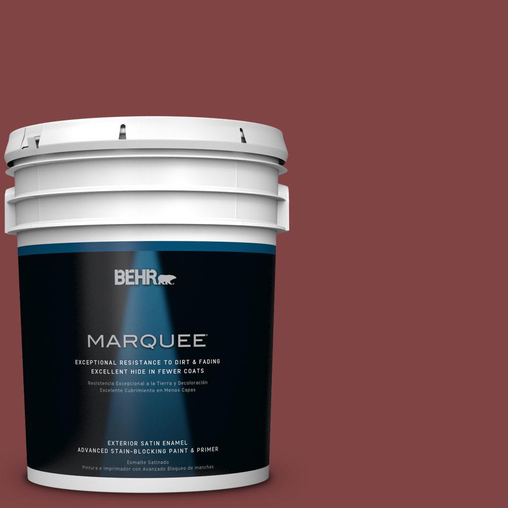 BEHR MARQUEE 5-gal. #ECC-59-3 New Roof Satin Enamel Exterior Paint