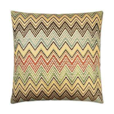 Cantina Feather Down 24 in. x 24 in. Standard Decorative Throw Pillow