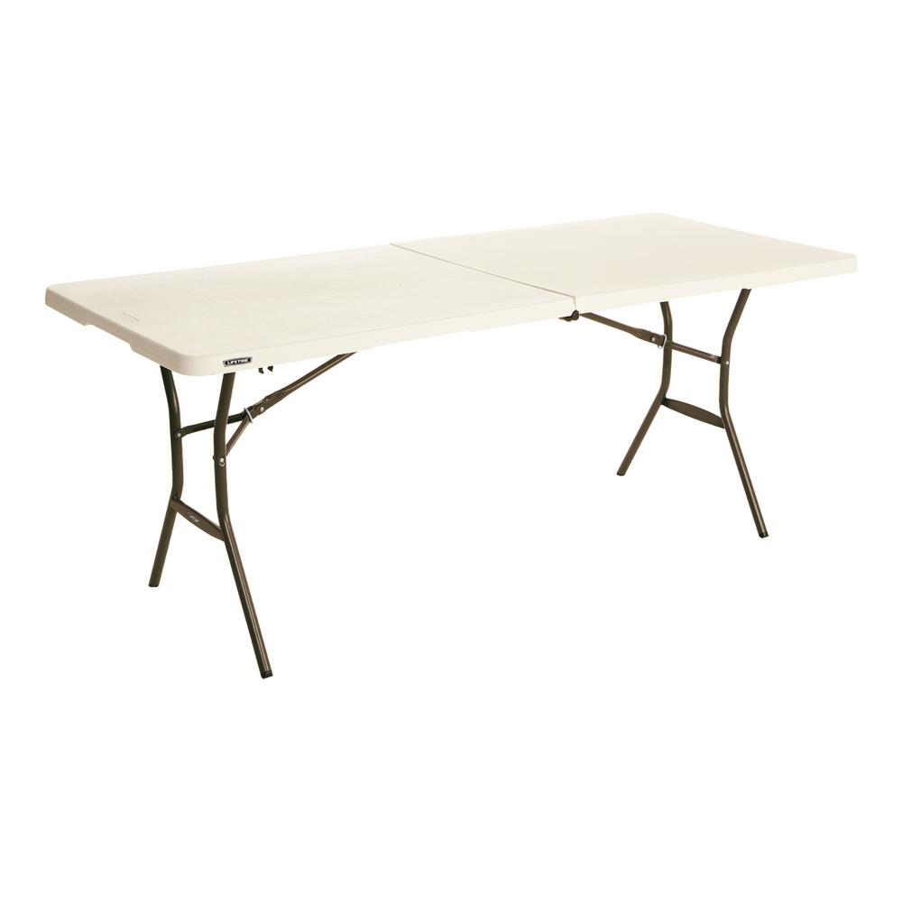 Lifetime 6 Ft Fold In Half Table