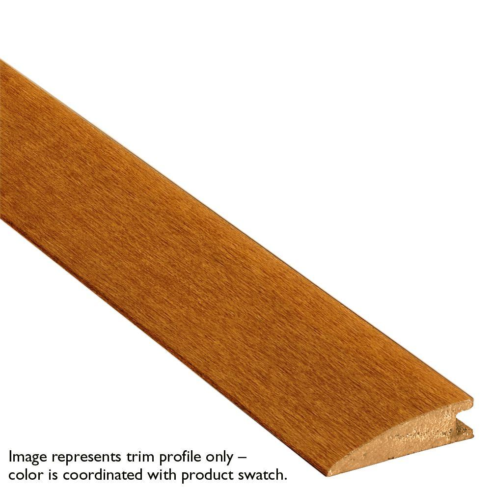 Bruce Brazilian Taupe Tigerwood 3/8 in. Thick x 1-1/2 in. Wide x 78 in. Length Solid Hardwood Reducer Molding