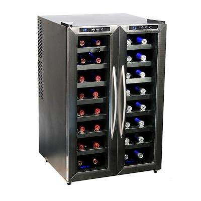 32-Bottle Dual Zone Wine Cooler