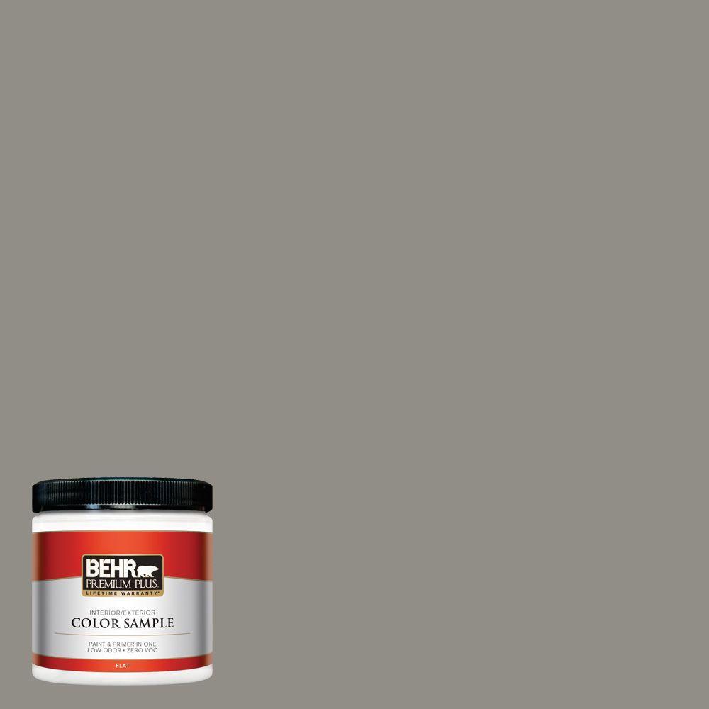 BEHR Premium Plus 8 oz. #T13-17 Timber Town Zero VOC Interior/Exterior Paint Sample