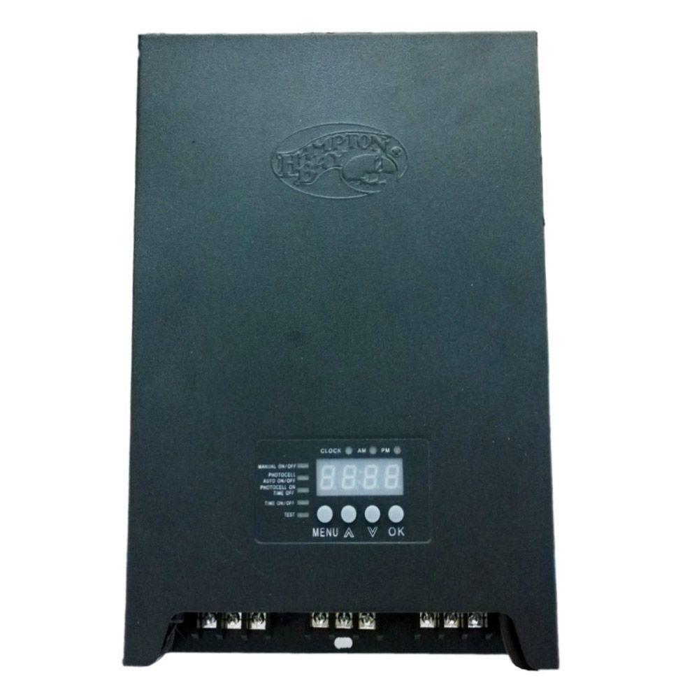 Low-Voltage 900-Watt Landscape Transformer - GE Lightech 60-Watt 12-Volt Electronic Transformer-GELT60A12012DIY