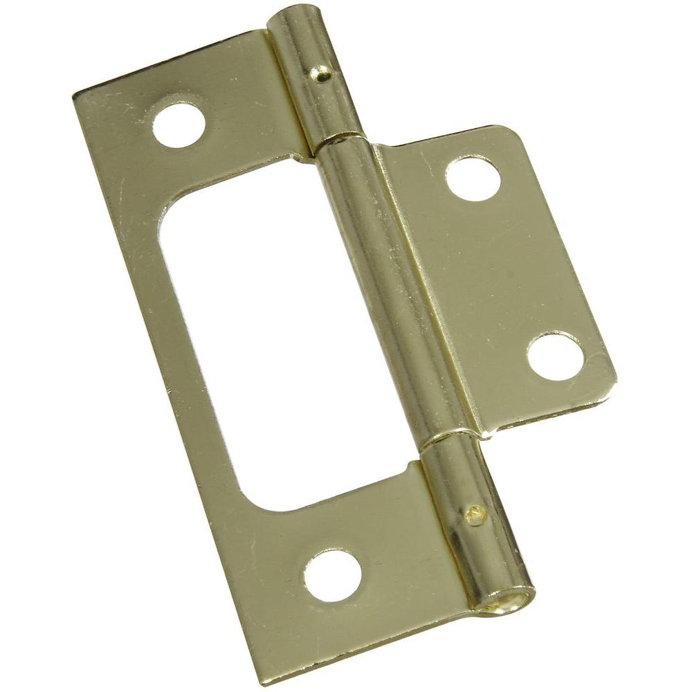 National Hardware 3 in. Surface Mounted Hinges