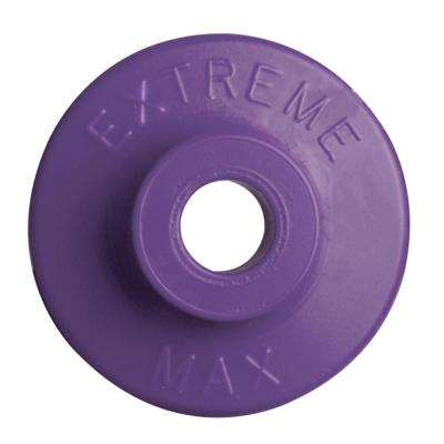 Round Plastic Backers - Purple (Pack of 48)
