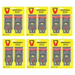 Quick-Kill Mouse Trap (12-Pack)
