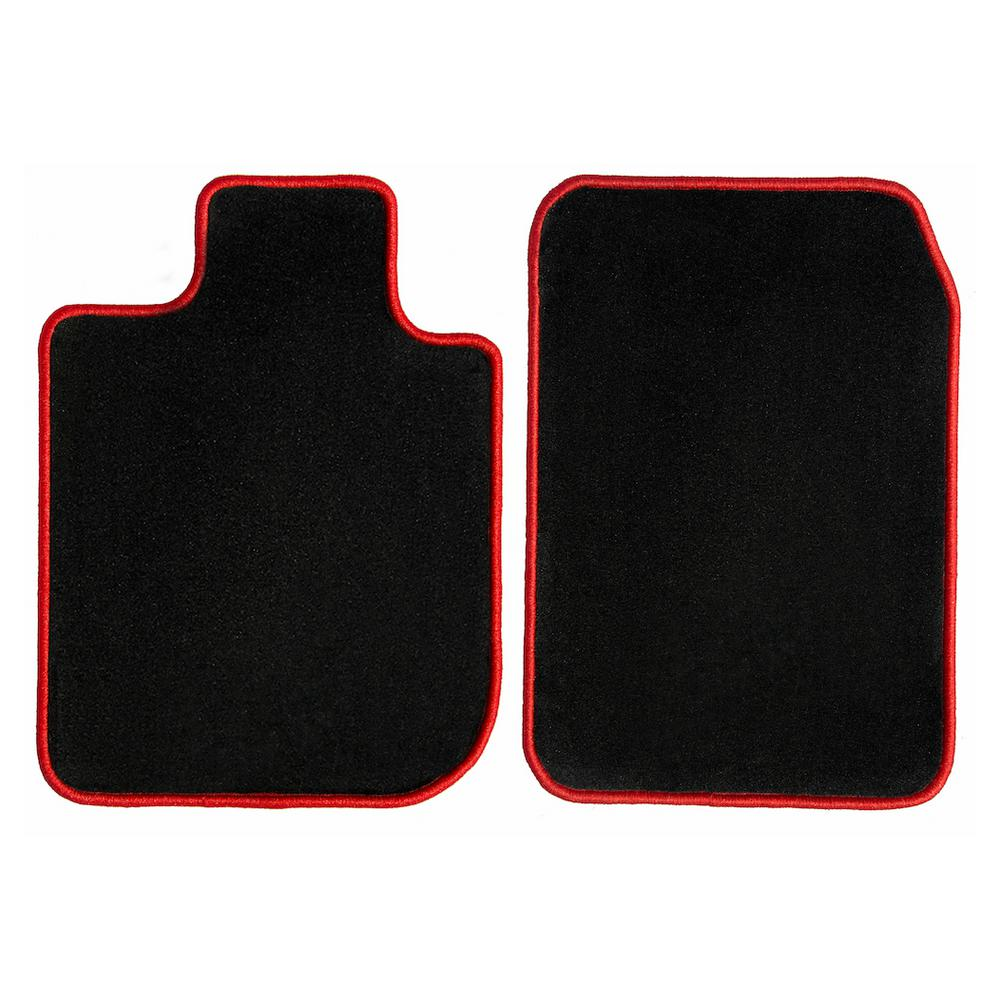 Custom Fit Floor Mats >> Ggbailey Tesla Model S Black With Red Edging Carpet Car Mats Floor Mats Custom Fit For 2013 2019 Driver And Passenger Mats