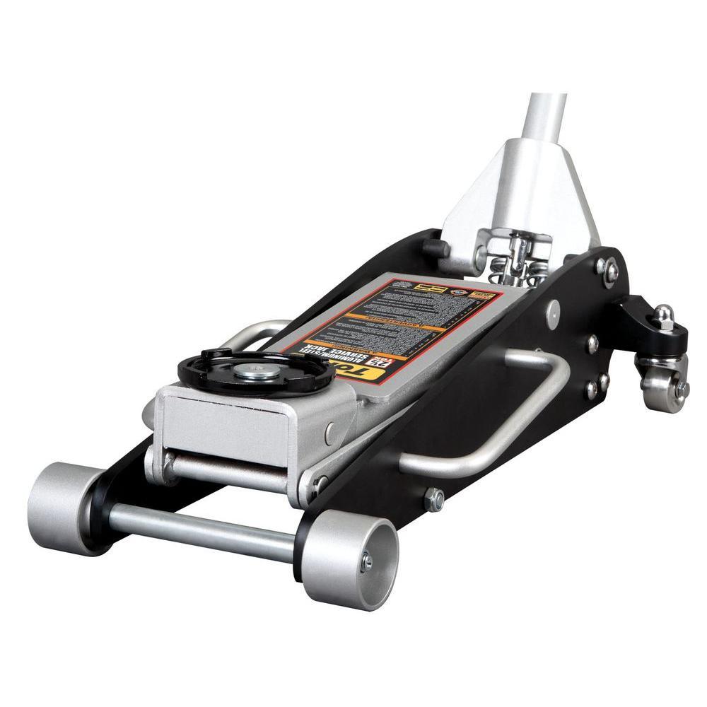 2.5-Ton Aluminum/Steel Racing Floor Jack with Rapid Lift