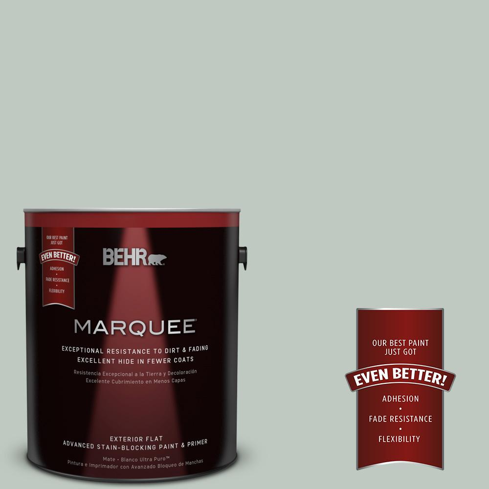 BEHR MARQUEE 1-gal. #N420-2 Mountain Falls Flat Exterior Paint
