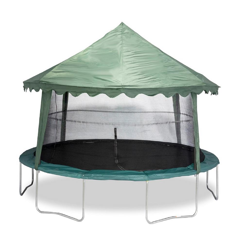 JUMPKING 14 Ft. Solid Green Canopy Cover-ACC-SGC14