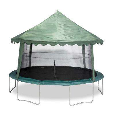 14 ft. Solid Green Canopy Cover
