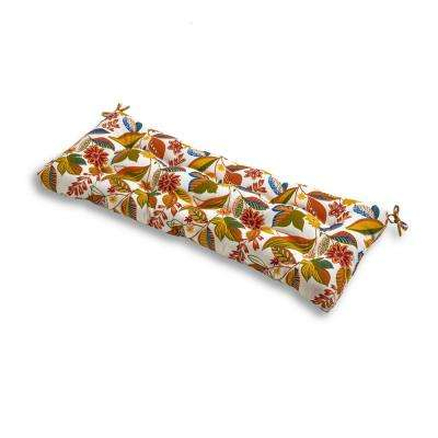 Esprit Floral Rectangle Outdoor Bench Cushion