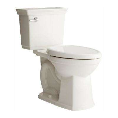 Optum VorMax Complete Tall Height 2-piece 1.28 GPF Elongated Toilet in White with Slow Close Seat