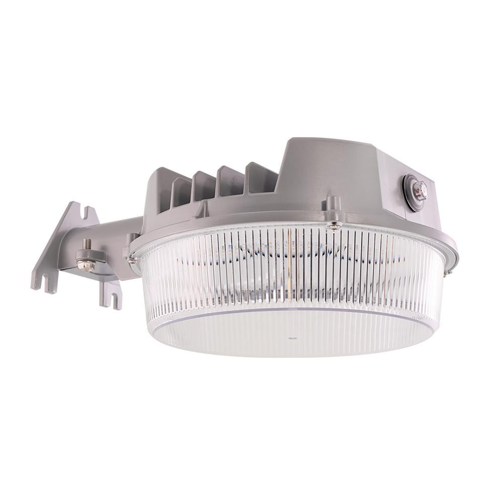 ALB 125-Watt 2000 Lumens Integrated LED Grey Basic Area Light