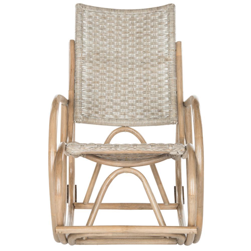 Bali Antique Gray Rocking Chair
